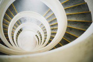 Spirale, Wendeltreppe 1