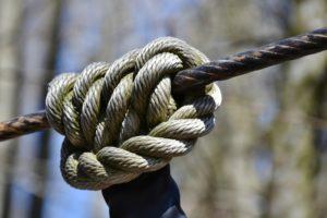 Knoten Stärken